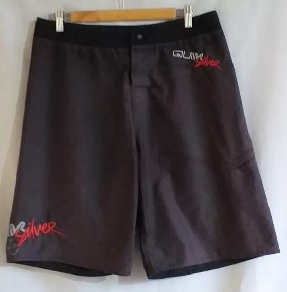 Bermuda Short De Baño Quiksilver Talle 44 46/ M, Cataleya