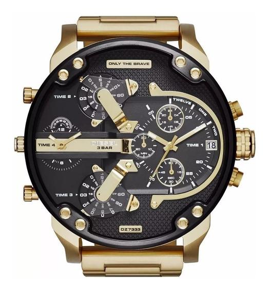 Relógio Diesel Dz7370 Mr. Daddy 100% Original 2 Anos Garanti