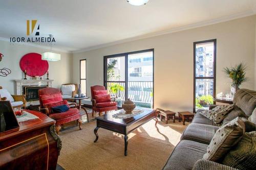 Imagem 1 de 30 de Cobertura Com 4 Dormitórios À Venda, 340 M² Por R$ 5.000.000,00 - Vila Nova Conceição - São Paulo/sp - Co0492