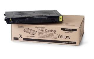 Cartucho Toner Xerox Amarelo Phaser 6100 - 106r00682