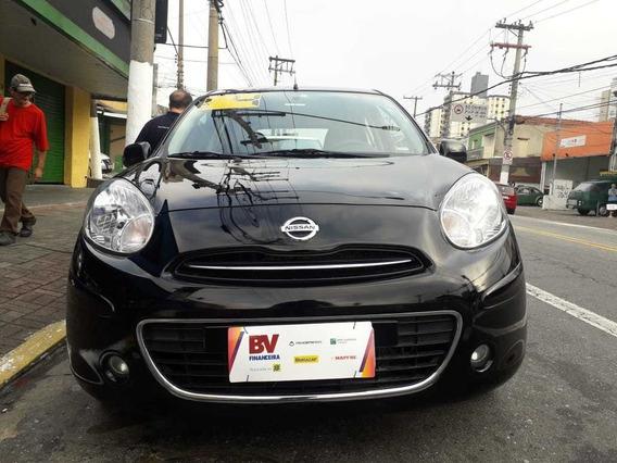 Nissan March 2014 1.0 S Flex - Esquina Automoveis