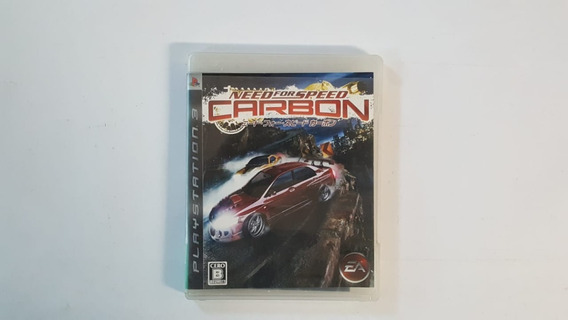 Need For Speed Carbon - Ps3 - Original - Física - Japonês