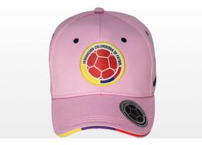 Gorras Oficiales Selección Colombia De Fútbol Rosada