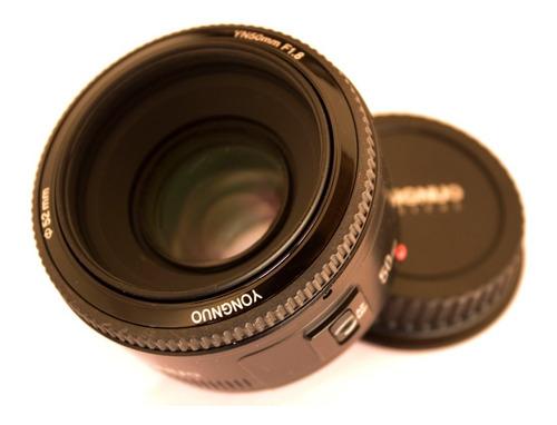 Lente  50mm Yongnuo F1.8 Para Canon Semi-nova