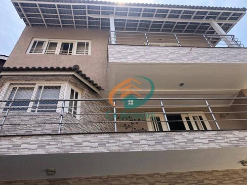 Sobrado Com 3 Dormitórios À Venda, 350 M² Por R$ 2.130.000,00 - Vila Rosália - Guarulhos/sp - So0582