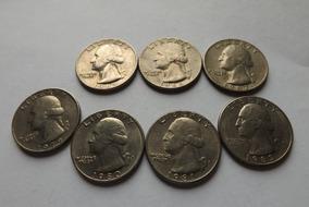 Quarter Dollar 1965,1966,1967,1979,1980,1981 E 1983