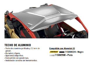 Toldo Can Am X3 Aluminio 2 Plazas