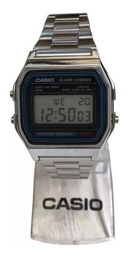 Relogio Casio A158 Digital Retrô Vintage