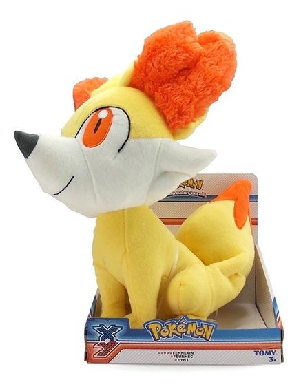 Pelúcia Pokémon Fennekin - Tamanho 40cm - Tomy