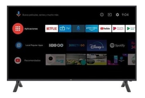 Imagen 1 de 3 de Tv Kalley 39   99 Cm Atv39hd Hd Led Plano Smart Tv Android