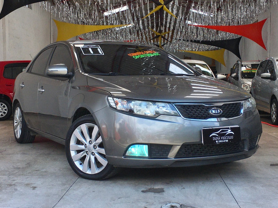 Kia Cerato Sx3 1.6 Flex Manual 2011 Cinza