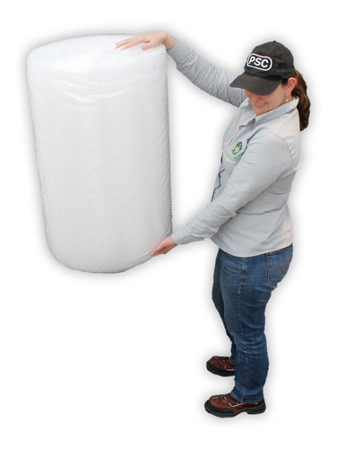 P Rollo Plástico Burbuja De 75cm X 50 Metros
