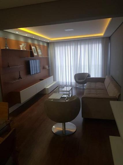 Apartamento Alto Padrão Para Locação No Itaim Bibi I 2 Dormitórios Sendo 1 Suíte I Varanda Fechada I 80m² I 1 Vaga - Ap1396