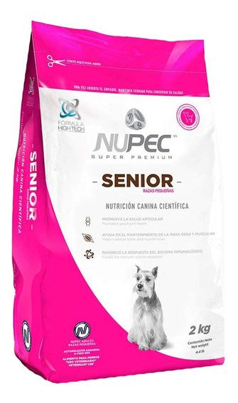 Croquetas Alimento Perro Nupec Senior Raza Pequeña 2kg