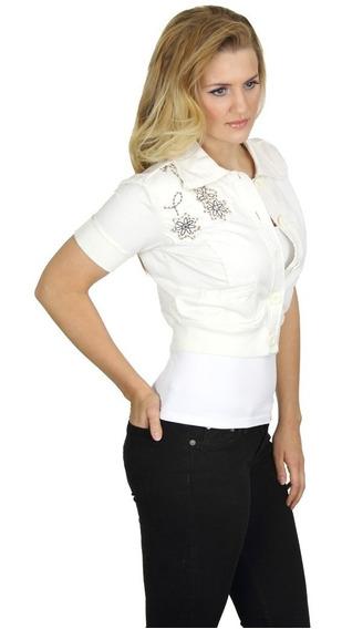 Blusa Para Dama Con Botones Mod A7160