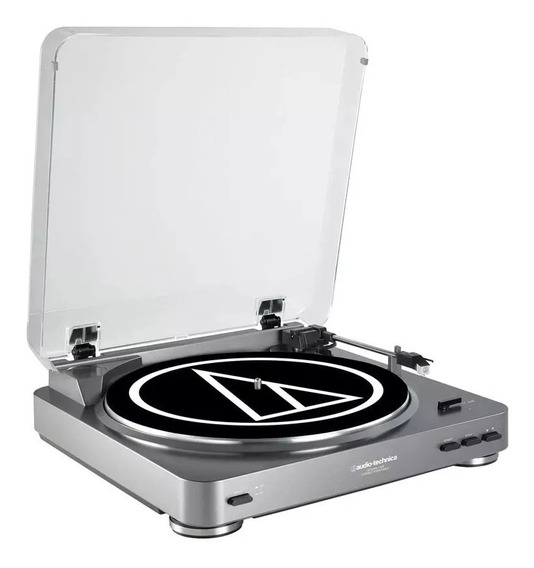 Toca Disco Audio Technica Atlp 60 Usb Turntable /220v/ Prata