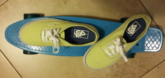 Zapatillas Vans Authentic Yellow Lime