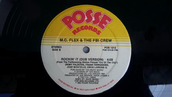 Disco Vinil Mc Flex E The Fbi Crew Rockin It