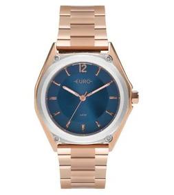 Relógio Euro Feminino Rose Original Promoção Eu2035ypl/5a