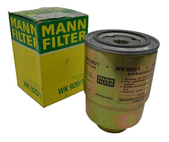 Mann Wk920/1 Filtro De Combustivel