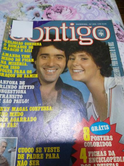 Revista Contigo 1977 Bem Conservada Bom Estado.
