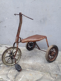 Triciclo Antigo - Tico Tico Anos 50 - Antigo - Pedal Car