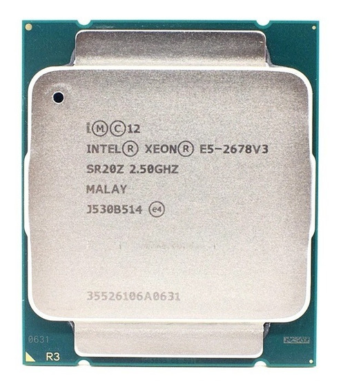 Processador Intel Xeon E5 2678 V3