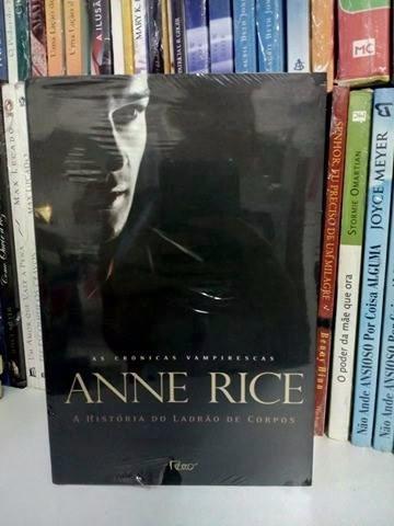 Livro A História Do Ladrão De Corpos Anne Rice