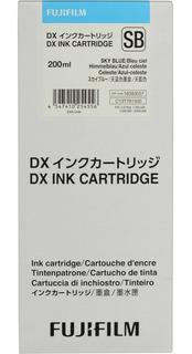 Cartucho Tinta Vividia Para Fuji Frontier Dx-100 Celeste