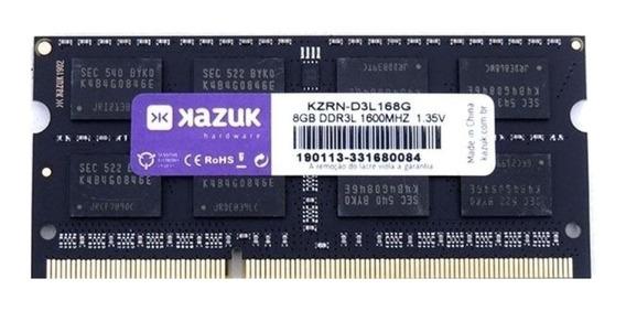 Memória RAM 8GB 1x8GB Kazuk KZRN-D3L168G