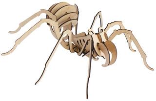 Rompecabezas 3d, Figura Tarantula Armable, Excelente Regalo