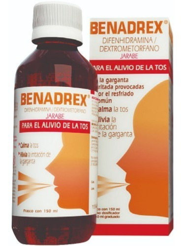 Benadrex Tos Seca 150 Ml.