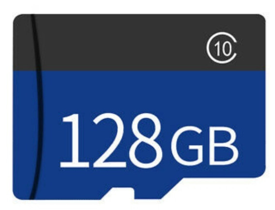 Original 128 Gb Tf Memory Card + Sd Adaptador 128 Gb