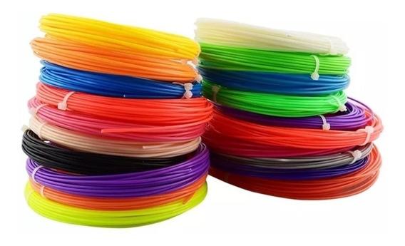 Filamento Caneta 3d E Impressora Abs Kit Com 10 Cores Barato