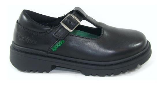 Zapatos Guillermina Kickers Kilah Cuero Nena Colegial 34-38