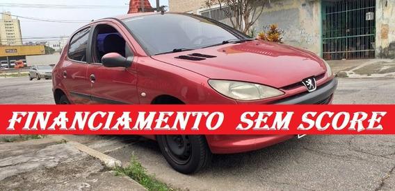 Peugeot 206 Financiamento Com Score Baixo Entrada 2000,00