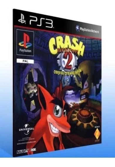Crash Bandicoot 2 - Clássico Ps1 - Psn Ps3 Comprar