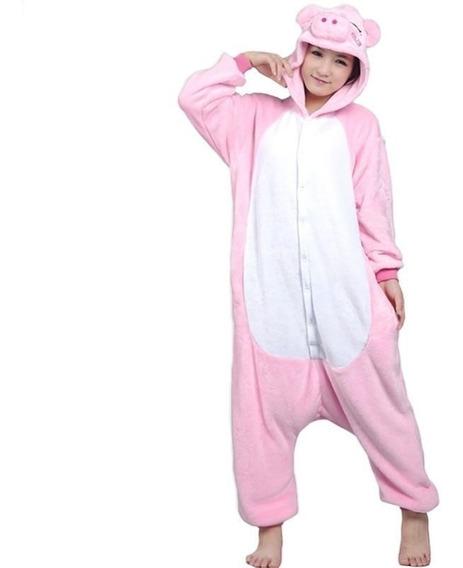 Kigurumi Puerquito Cerdito Cosplay Pijama Mameluco Disfraz