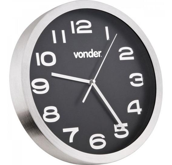 Relógio De Parede 360 Mm Vonder Preto Dhwt