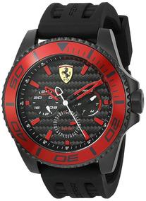 64145c0b3 Relógio Scuderia Ferrari - Modelo 830310 (preto E Vermelho)
