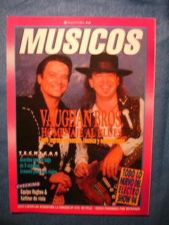Stevie Ray Vaughan Vaugan Bros Revista Musicos 1994 Blues