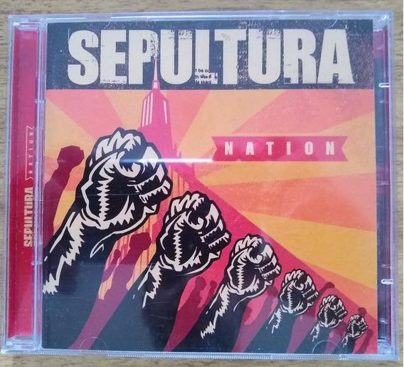 Cd Sepultura - Nation - Frete Gratis Leia A Descrição