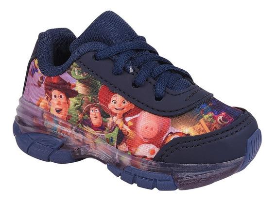 Tênis Infantil Masculino Toy Story Com Luz.