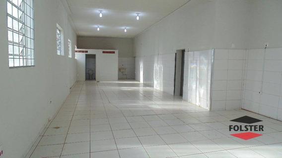 Salão Comercial Para Locação, Centro, Santa Bárbara D