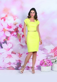 Lindo Vestido Evangelica Elegante Cod#livvy