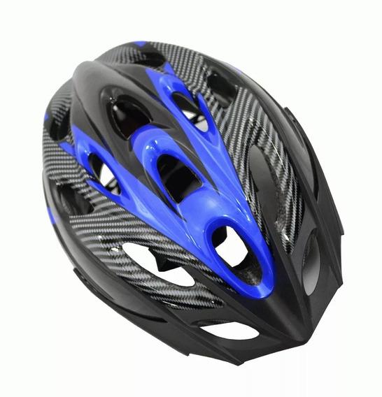 Casco Bicicleta Con Visera + Ventilaciones + Regulacion - Oferta