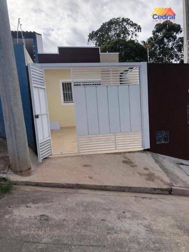 Casa Com 2 Dormitórios À Venda, 62 M² Por R$ 290.000,00 - Jardim Esperança - Mogi Das Cruzes/sp - Ca0458