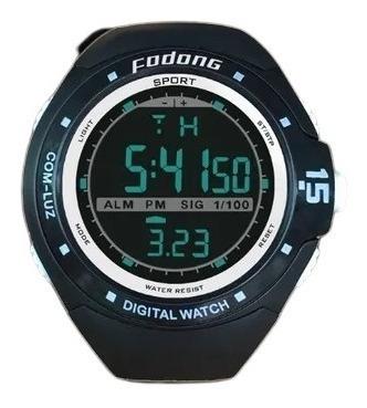 Relógio De Pulso Digital Led A Prova D