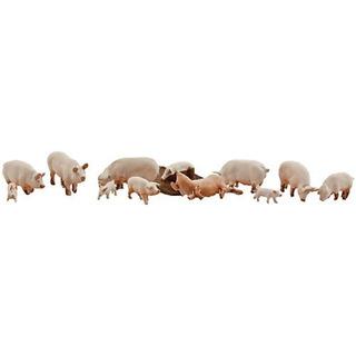 Woodland Scenics Ho Scenic Acentos Yorkshire Cerdos & Pig