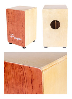 Cajon Flamenco Parquer Con Bordona Ajustable